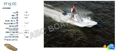 ABC BOATS NV - Carolina Skiff JV 15 Center Console