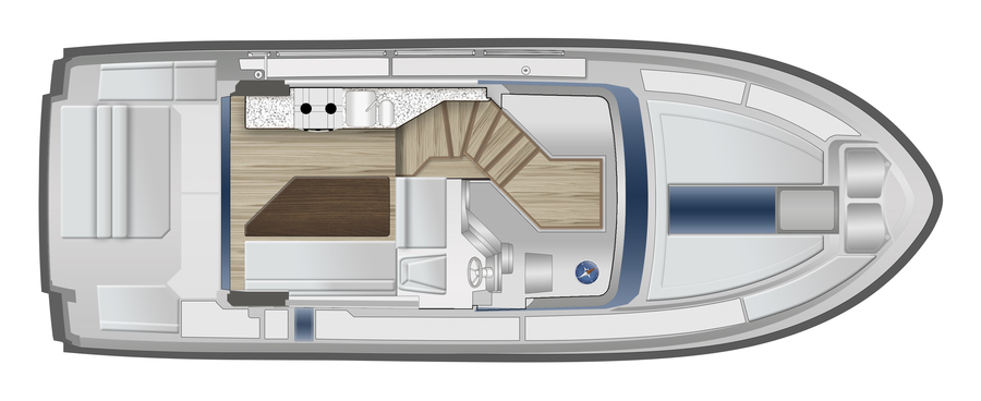 Delphia Yachts Escape 1150 - layout.jpg