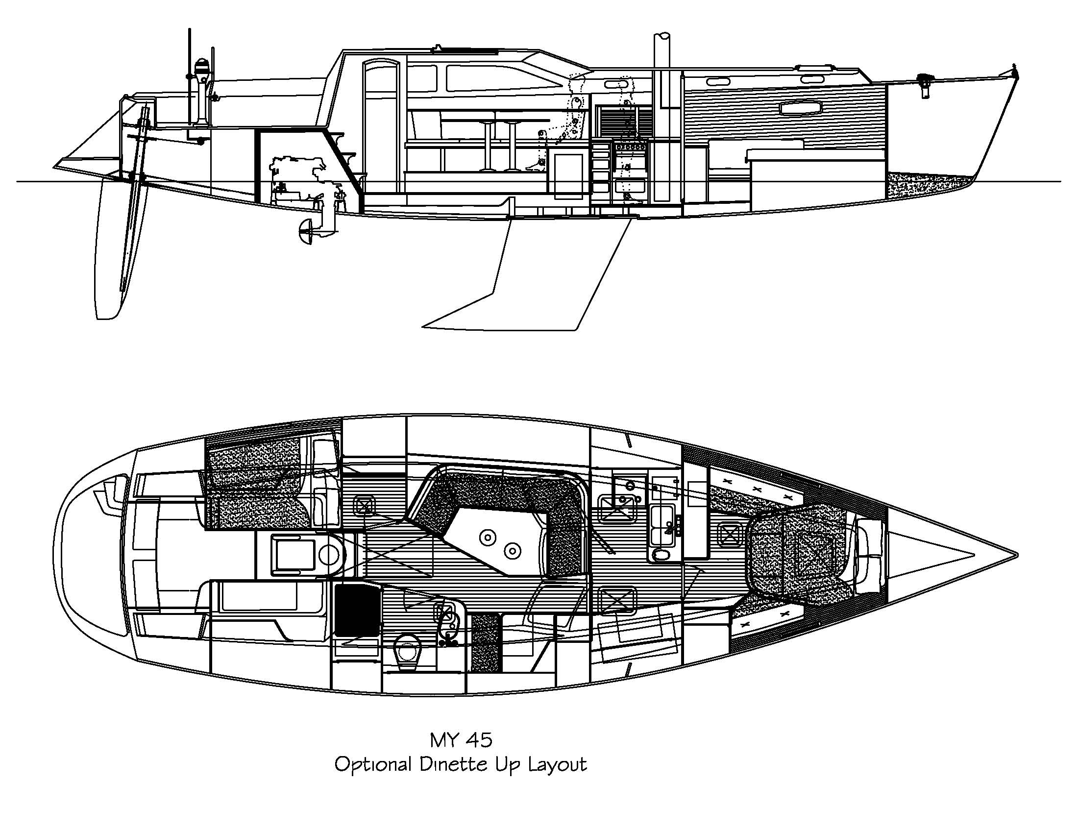 Morris Yachts OS45RS - 45-Optional-Dinette-Up-Layout.jpg