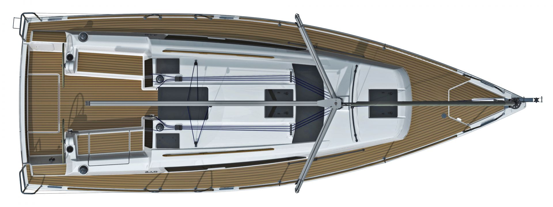 Dufour 310 Grand Large - deck.jpg