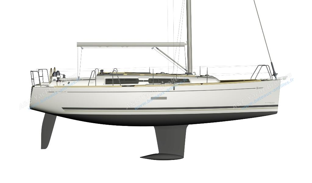 Dufour 335 Grand Large - hull.jpg