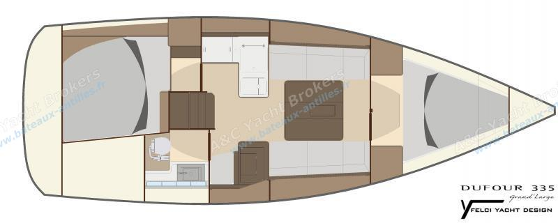 Dufour 335 Grand Large - layout.jpg