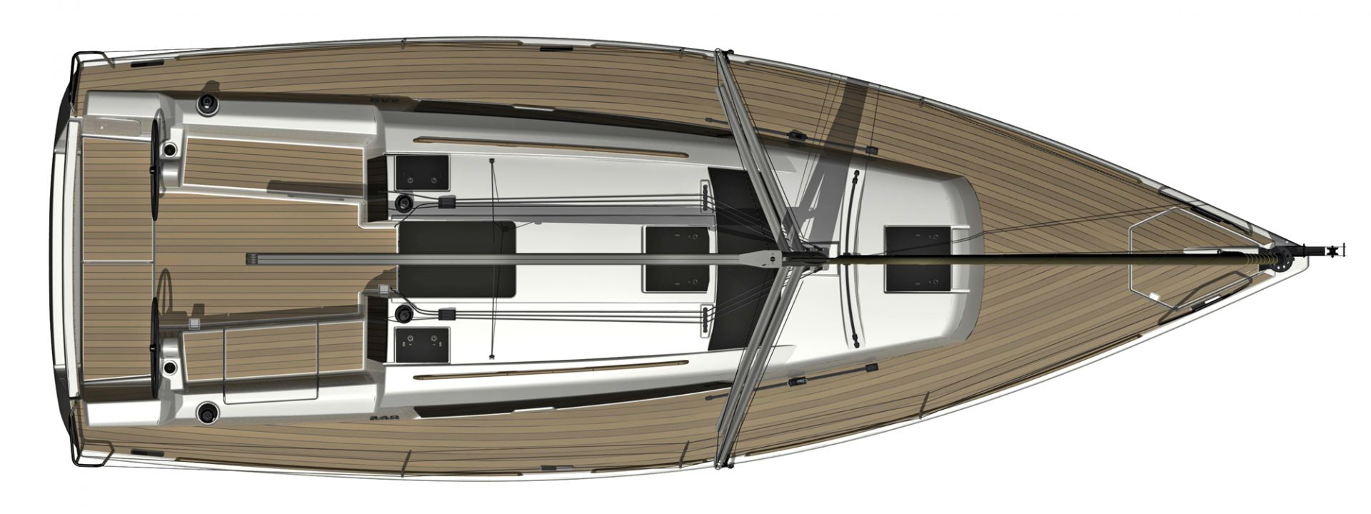 Dufour 350 Grand Large - deck.jpg