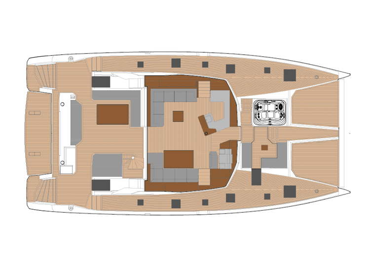Fountaine Pajot Power 67 - power-67-layouts2.jpg
