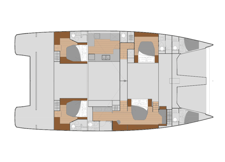 Fountaine Pajot Power 67 - power-67-layouts4.jpg
