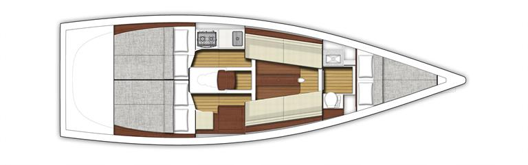 X-Yachts XP-33 - layout.jpg
